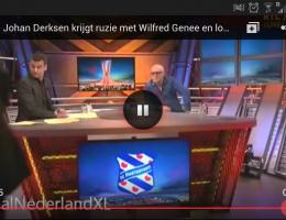 Johan Derksen loopt boos weg 14 maart 2013
